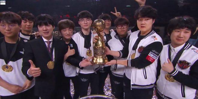 SKT wins MSI 2017